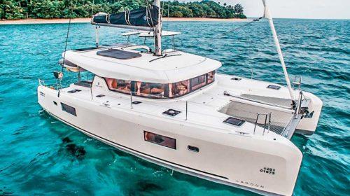 Lagoon 42 charter Phuket