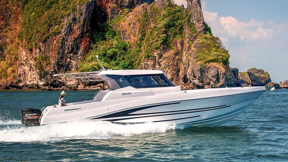 Silvercraft 36HT: Speed Boat Rent Phuket