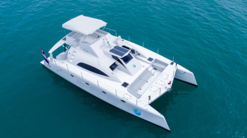 Stealth 47 Power Catamaran Charter Phuket