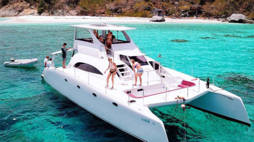 Power catamaran rental Phuket