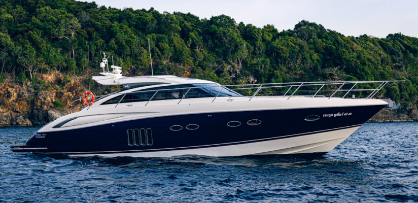 Luxury Yacht Charters Phuket: Princess V62
