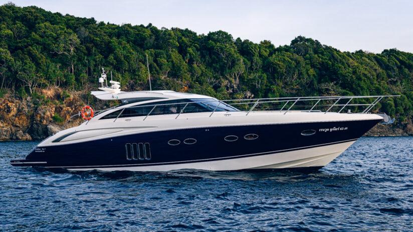 Luxury Yacht Charters Phuket: Princess V62