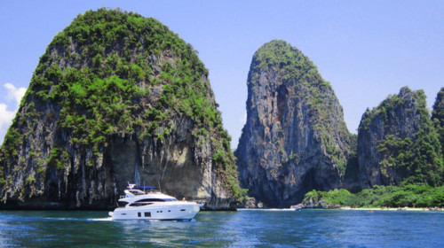 Krabi private yacht charter