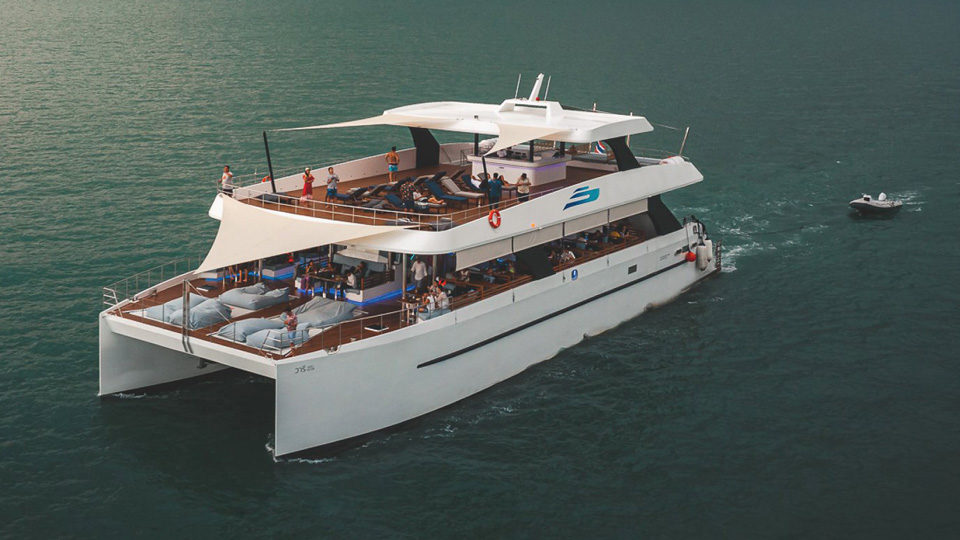 Party boat Phuket: Power Catamaran 111