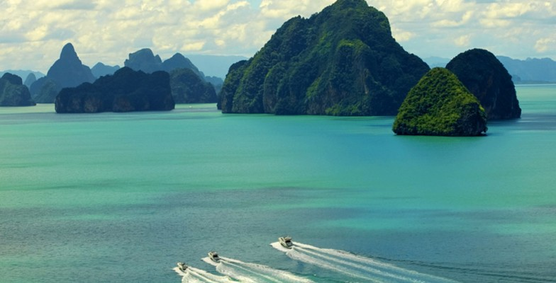 Phang Nga Bay private yacht charter