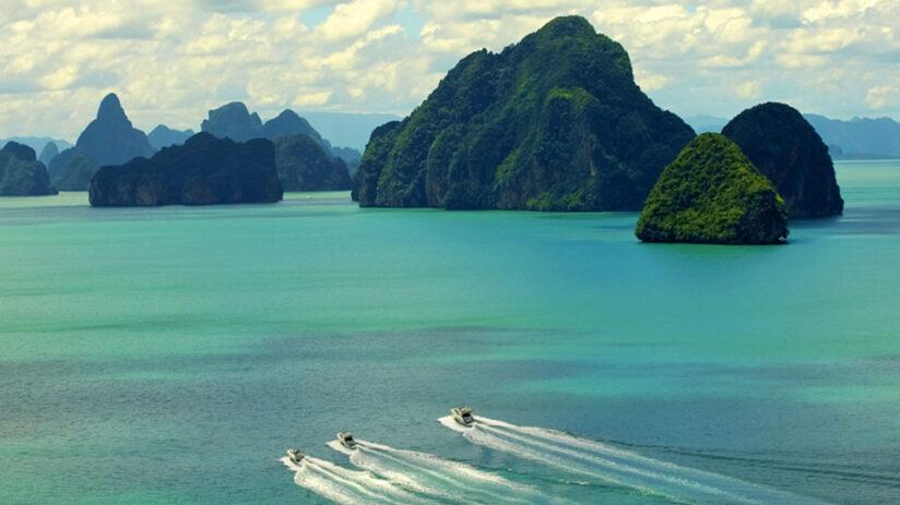 Phang Nga Bay private yacht charter