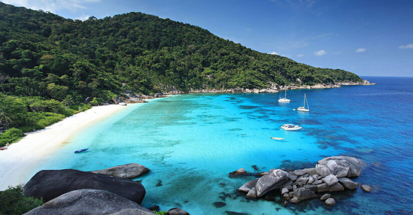 4 Day Private Yacht Charter Phuket to Similan Islands