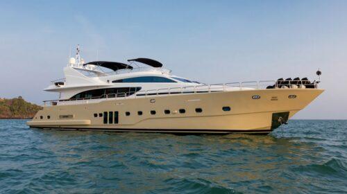 Bilgin T100 - Luxury Motor Yacht Charters Phuket
