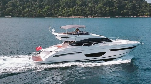 Phuket Yacht Charter: Princess S65