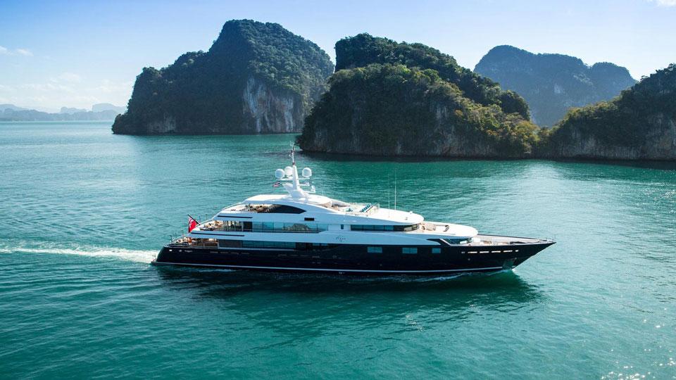 Cloud 9 at Monaco yacht Show 2017
