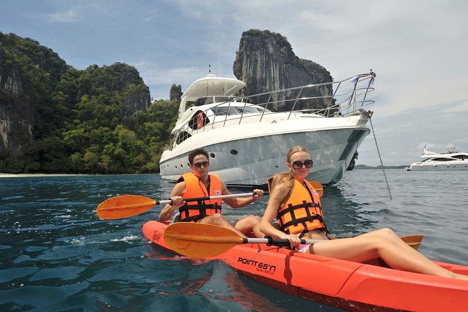 Yacht Charter Toys in Phuket: Kayaks