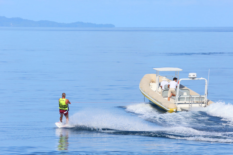 Yacht Charter Toys in Phuket: Water Ski