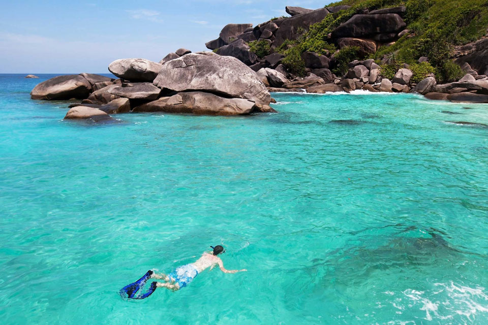 Best islands for snorkeling around Phuket