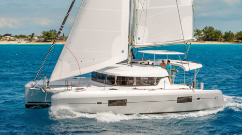 Lagoon 42 Sailing Catamaran Rental Phuket