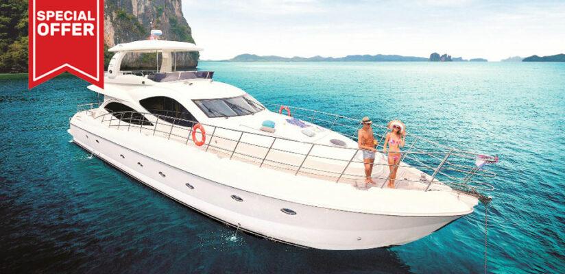 Private Yacht Charter Phuket: Lamberti 80