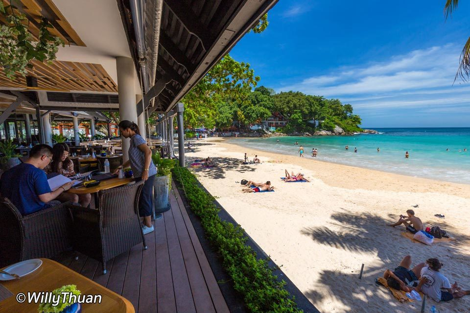 The Boathouse: beach restaurants in Phuket