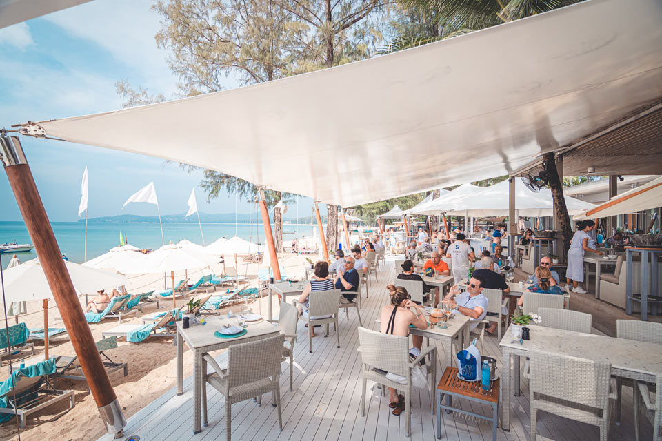 Catch Beach Club: beach restaurants in Phuket