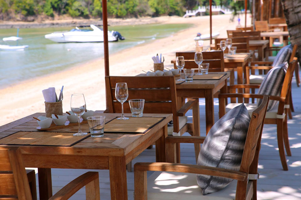 The Cove: beach restaurants in Phuket
