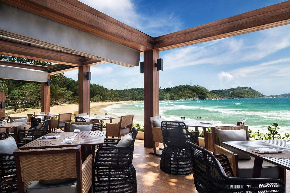 Rock Salt: beach restaurants in Phuket