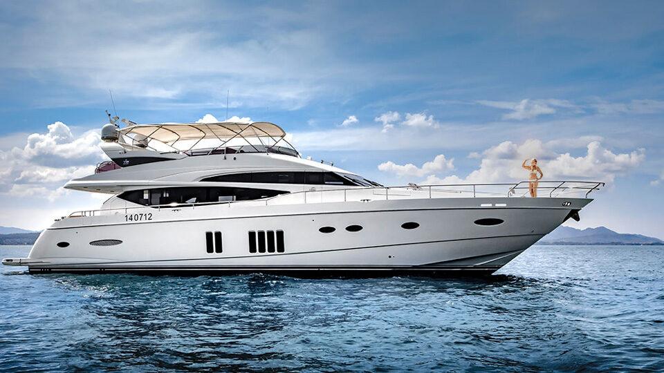 Princess 78 Motor Yacht Charter Phuket