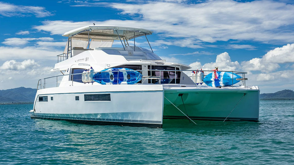 Leopard 51 Power Catamaran
